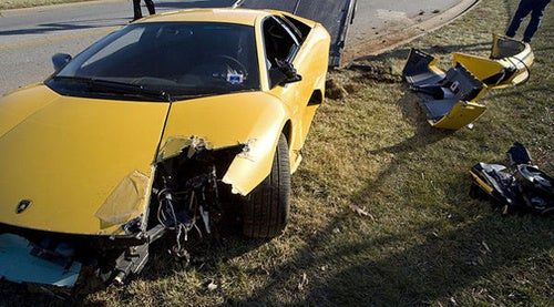 The 30 Most Expensive Car Crashes Of 2009
