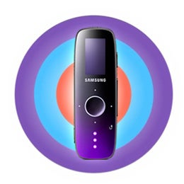 Images of Samsung U4 MP3 Player Surface, iPod Shuffle Shakes in Fear