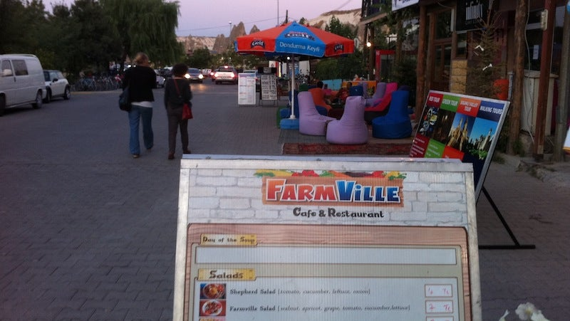What's on the Menu at this Remote FarmVille Restaurant in Turkey?