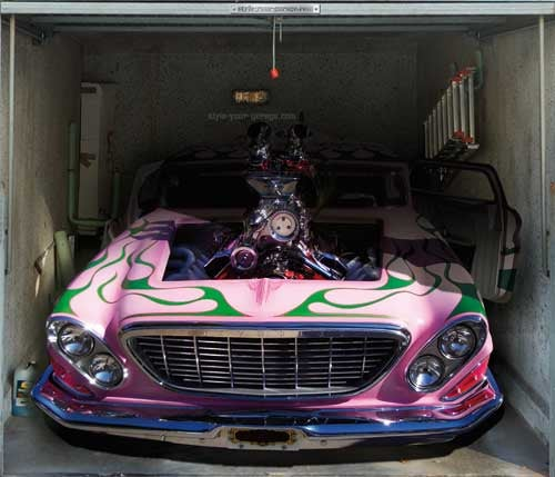 Beat The Joneses With Printed Garage Wraps