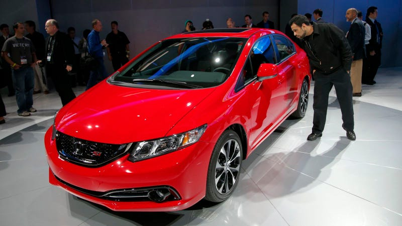 The 2013 Honda Civic Is Proof That Honda Maybe Cares Just A Little