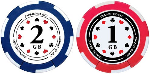 """USB Poker Chips, Go """"All In"""" with the Gambling Addiction"""