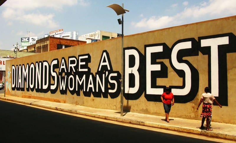 Street Artist Tricks South African Diamond Exporter Into Sponsoring Anti-Diamond Mural