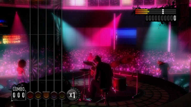 "Konami Announces ""Rock Revolution"""