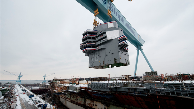 This Is How You Build a Ford-Class Supercarrier