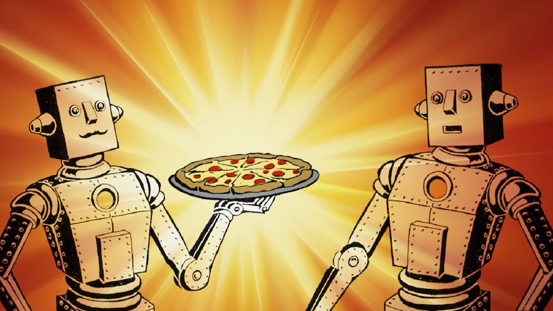 How Buying Pizza For a Stranger Changed My Life