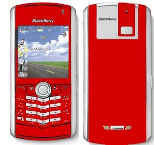 Red BlackBerry Pearl Coming to Cingular