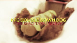 KFC's Double Down Dog: The SnackTAYku Review