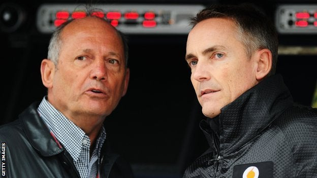Whitmarsh kicked out of F1 Team Principal position?