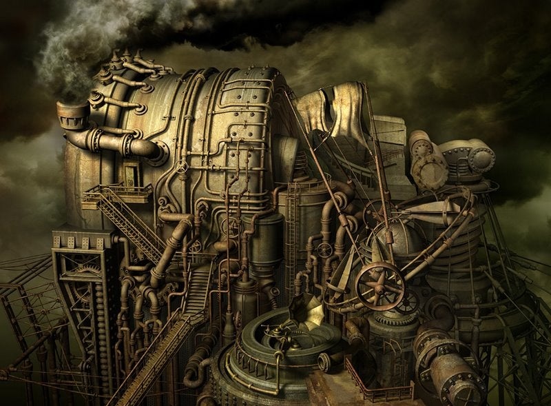Concept Art That Will Make You See Steampunk Anew