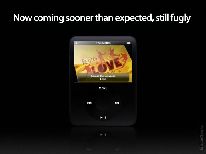 Apple Special Event on September 5th May Bring New iPods