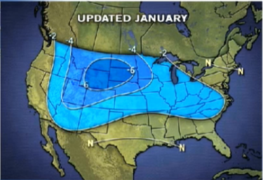 America Could Face Coldest January in 25 Years