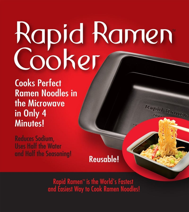 The Rapid Ramen Cooker Is The Best Thing To Happen To Ramen Since The 5 For $1 Sale