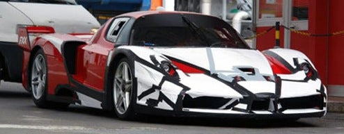 Ferrari FXX Testing New Tech?