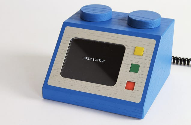 Someone turned Lego computer consoles into life-size working electronics