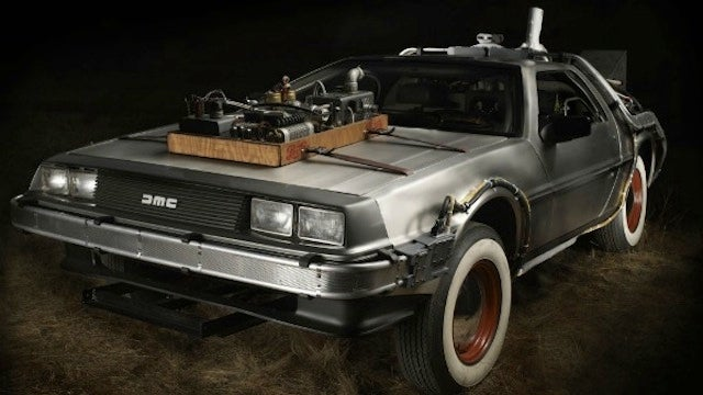 You Can Buy One of the Super Rare DeLorean Time Machines Used in Back to the Future