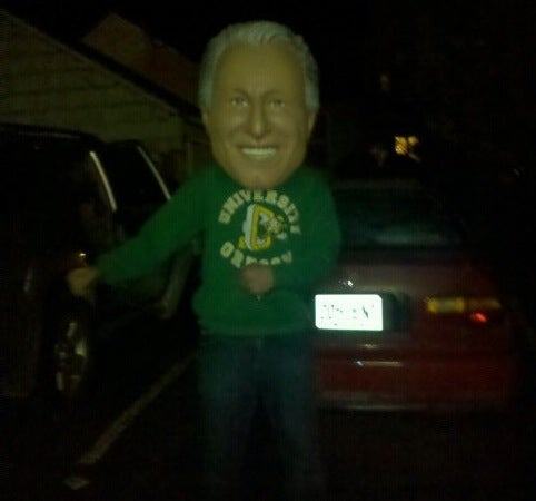 Who Stole The Giant Lee Corso Head?