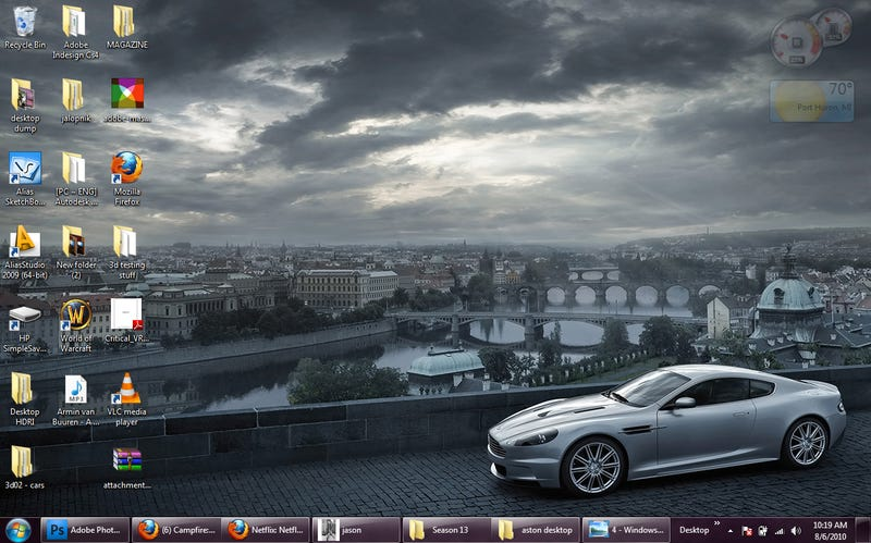 Ten Epic Car-Themed Wallpapers