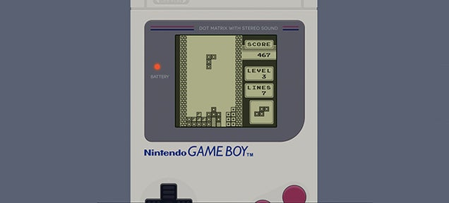 Celebrate Game Boy's 25th Anniversary With a Tetris Birthday Card