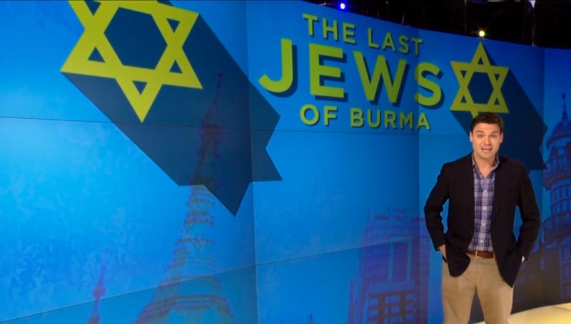 Huh. There Are Jews in Burma?