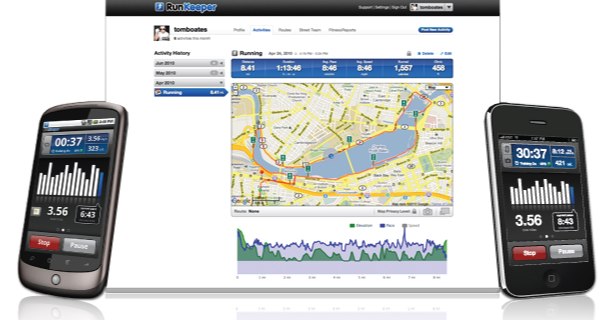 Best Mobile Fitness App: RunKeeper