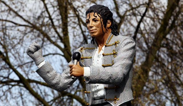 Don't Like This Tacky Michael Jackson Statue? Then Go to Hell!