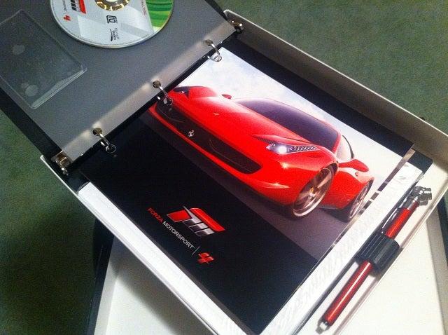 Look It's Forza Motorsport 4's Fancy Review Copy