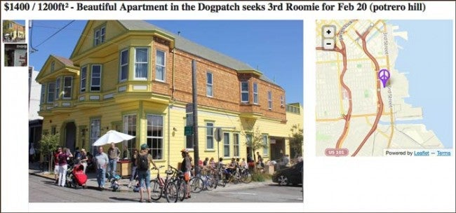 Of Course the Most Annoying Craigslist Ad Ever Is from San Francisco