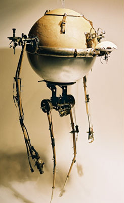 Steampunk Robots are Totally Awesome
