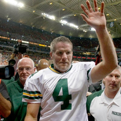Favre To Grace Cover Of Madden '09, It Seems