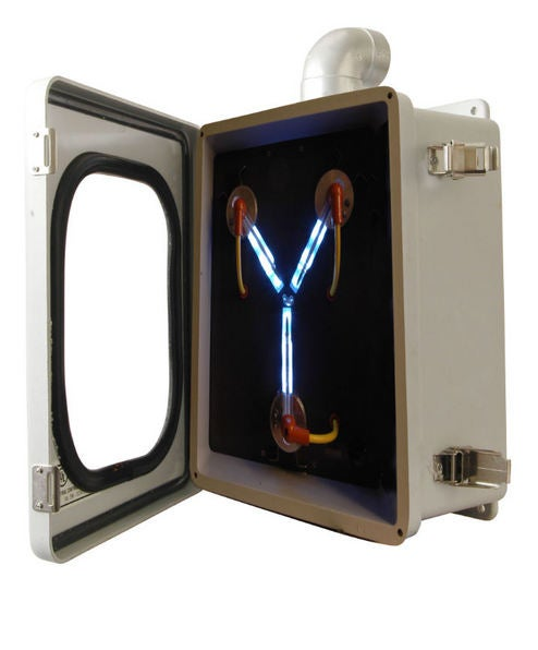Flux Capacitor Replicas Now Available, Plutonium Not Included