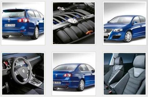 Volkswagen Passat R36 Shots Leaked