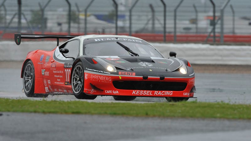 Medevaced Racer Reportedly Conscious, Stable After Huge Accident