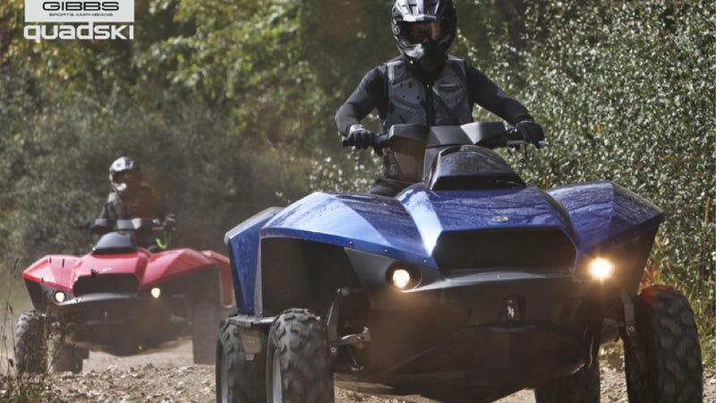 The Gibbs Quadski Is A Badass Amphibious ATV