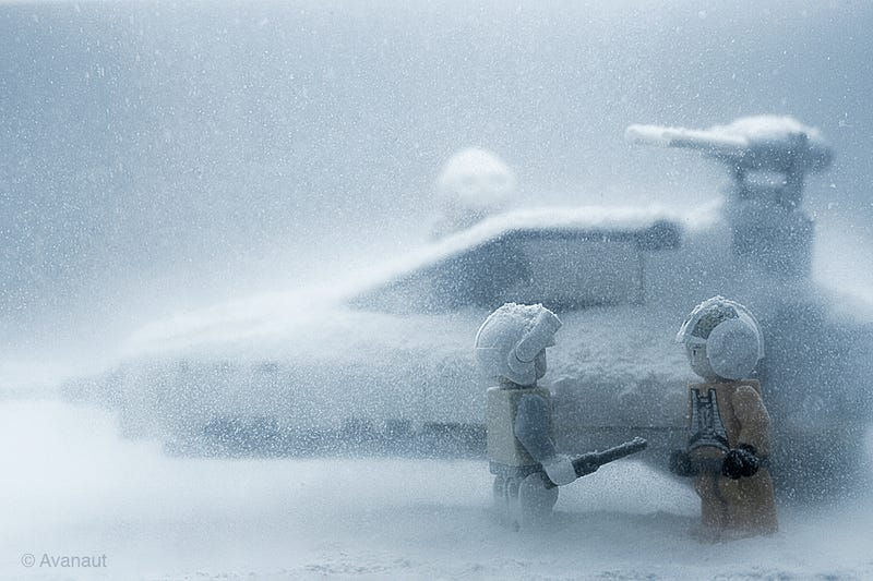 Beautiful Lego in Hoth Photos Have Me in Total Awe