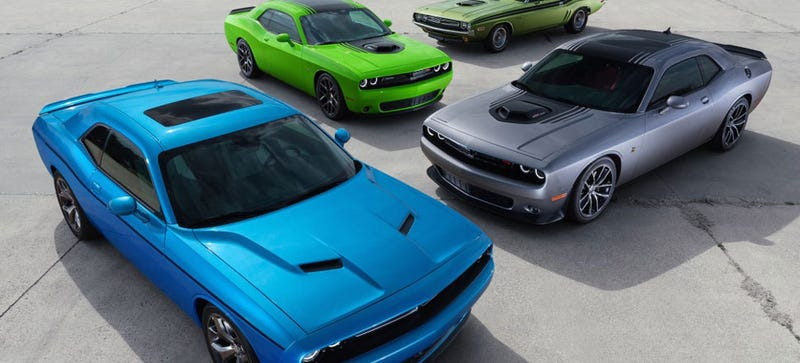 There's Eight 2015 Challenger Trims But They Forgot The Supercharger