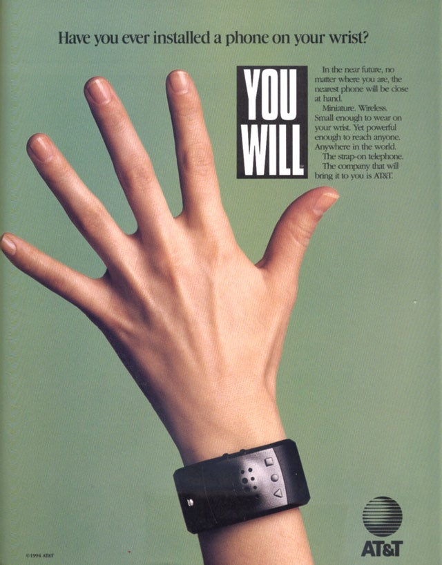 In Alternate Universe 2010, the Watch Phone Has AT&T's Network On Its Knees