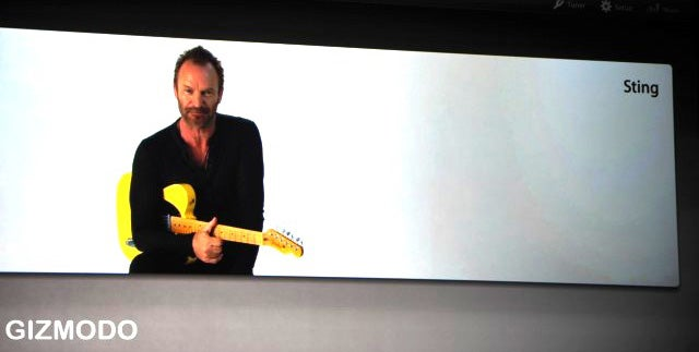 Sting Teaches You to Play Guitar in Garageband '09