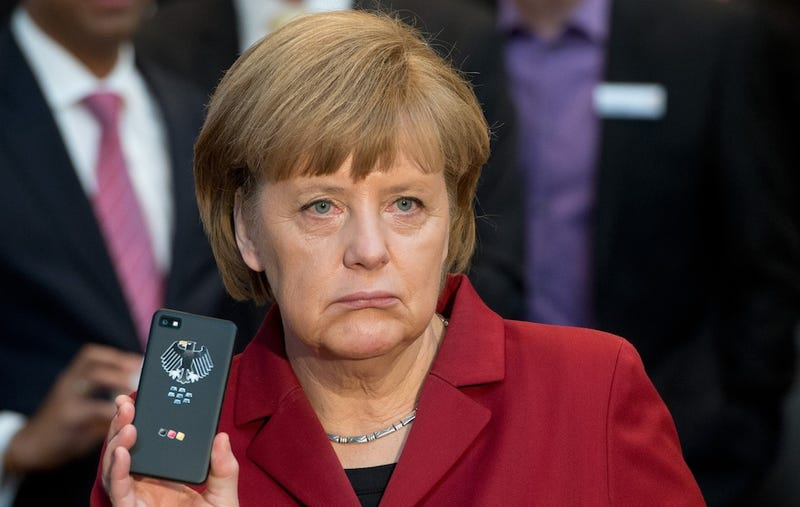 German Chancellor Confronts Obama About U.S. Spying on Her Cellphone