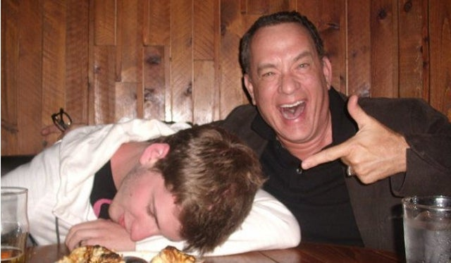Fan Photo Offers Definitive Proof that Tom Hanks is Truly Awesome