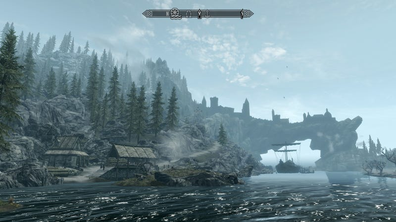 Skyrim: Still as breathtaking as the very first time...