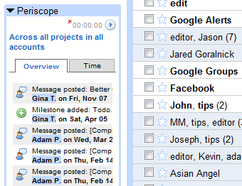 Add Your Basecamp Projects to Gmail