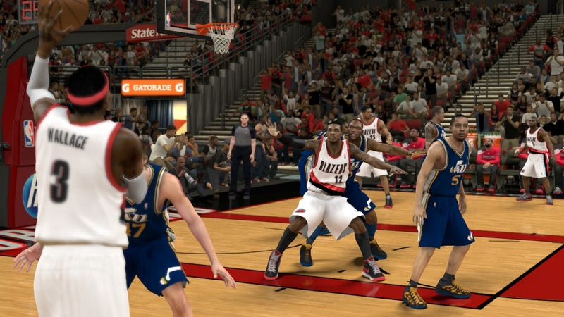 Trying Not to Swoon on My First Date With NBA 2K12