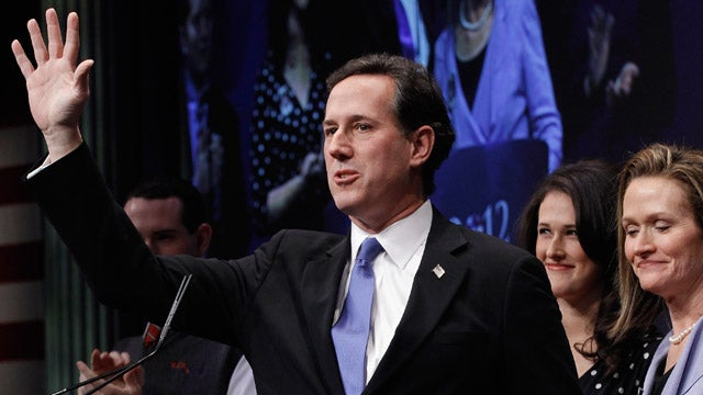 Santorum Meant to Say It's Ladies' Weakness, Not Emotions, That Keeps Them Out of Combat
