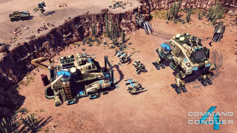 Command & Conquer 4 Crawler Moves Out