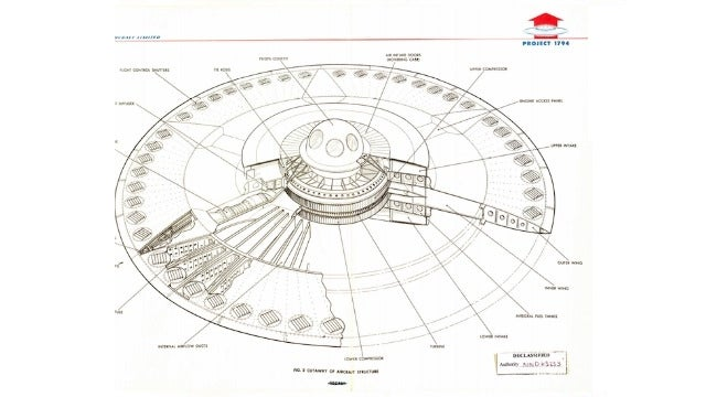 This Is the Supersonic Flying Saucer the US Air Force Tried to Build