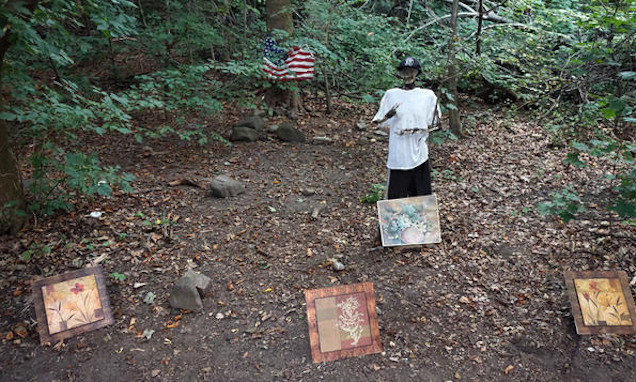 Skeleton Decked Out in Brooklyn Nets Gear Found in Prospect Park