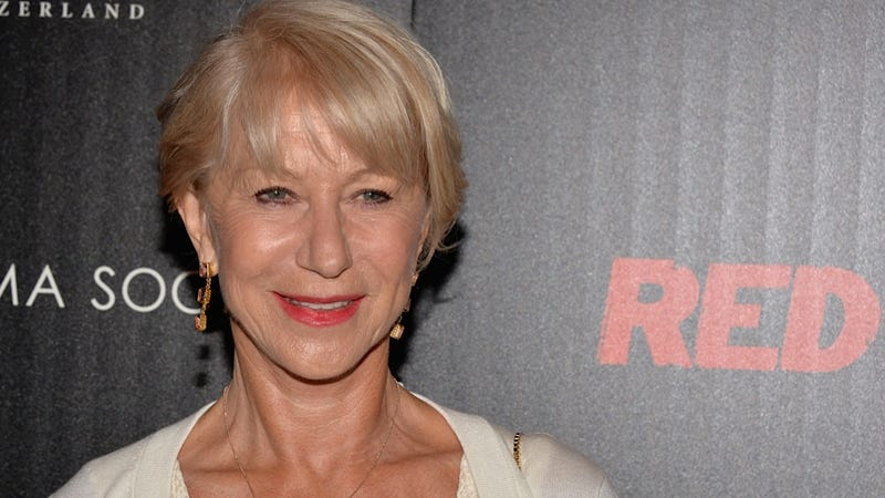 Helen Mirren's Hypothetical Daughter Advice: Don't Take Shit from Men