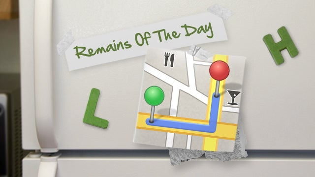 Remains of the Day: Nook Tablets Get a Maps App