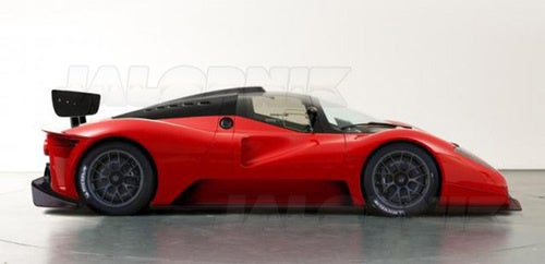 Ferrari P4/5 Competizione: The Work In Progress Renderings